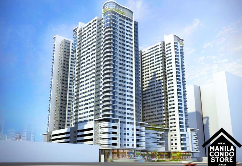 AVIDA Towers Asten Makati Condo Building Facade