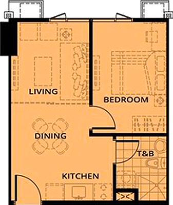 AVIDA Towers Turf BGC Taguig Condo 1-bedroom unit
