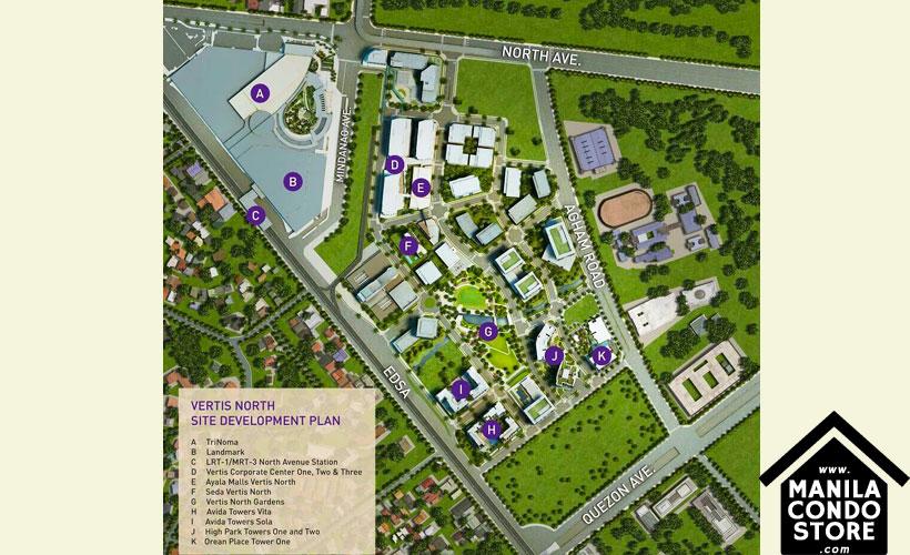 Alveo High Park Vertis North Quezon City Condo Site Development Plan