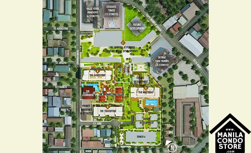 Alveo Portico Pasig Condo Site Development Plan