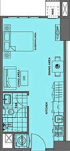Alveo Solstice Circuit Makati Condo Studio unit