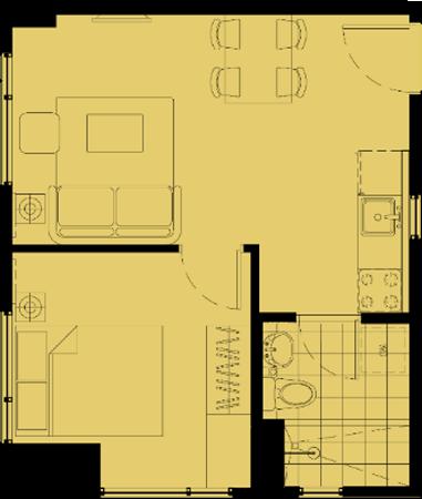 Avida Towers Altura Alabang Muntinlupa Condo 1-bedroom unit
