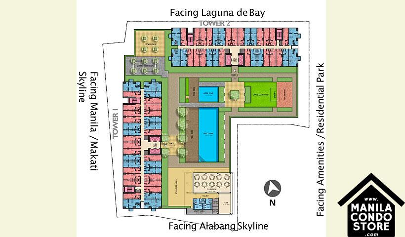 Avida Towers Ardane Alabang Muntinlupa Condo Site Development Plan
