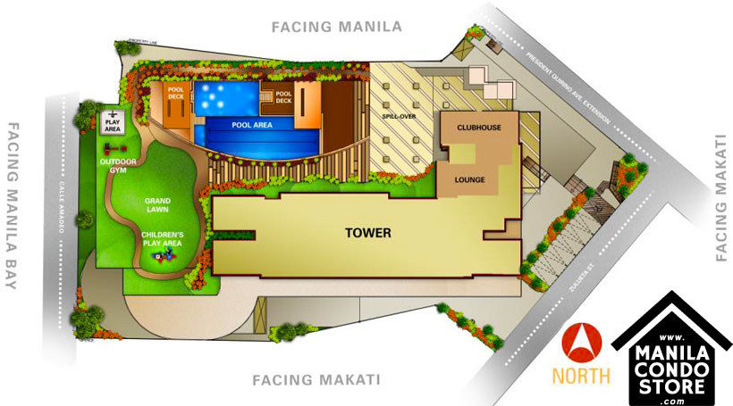 Avida Towers Intima Paco Manila Condo Site Development Plan