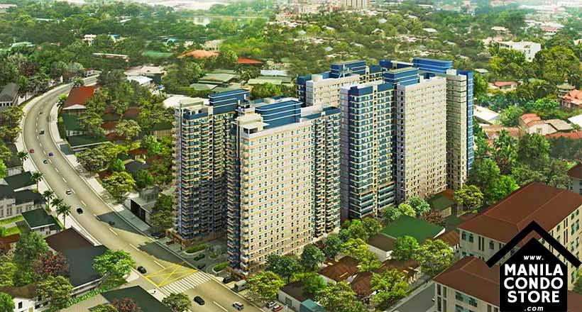 Avida Towers New Manila Condo Building Facade