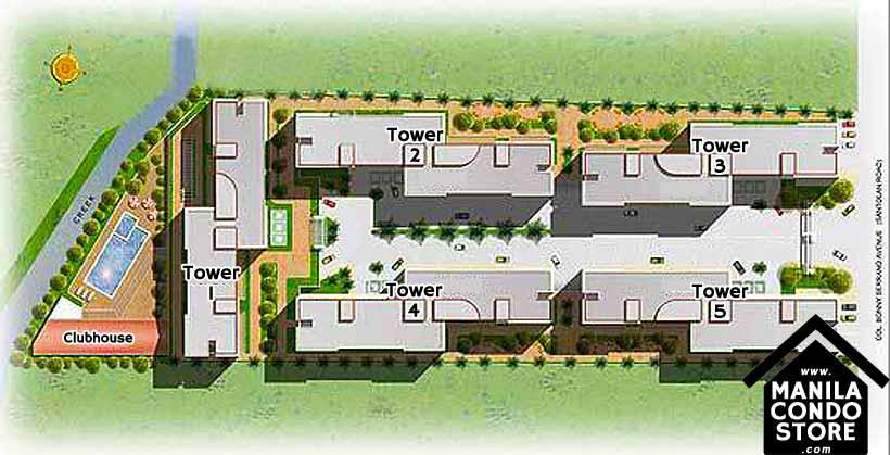 Avida Towers New Manila Condo Site Development Plan