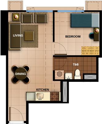 Avida Towers Prime Taft La Salle Manila Condo 1-bedroom unit