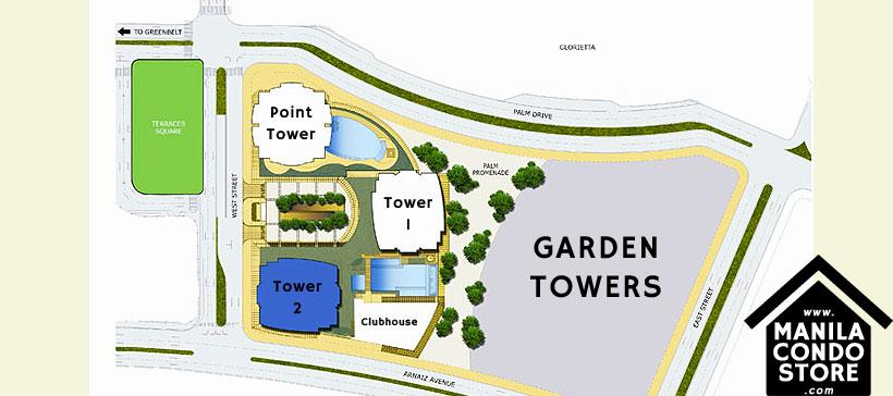 Ayala Land Premier Park Terraces Ayala Makati Condo Site Development Plan