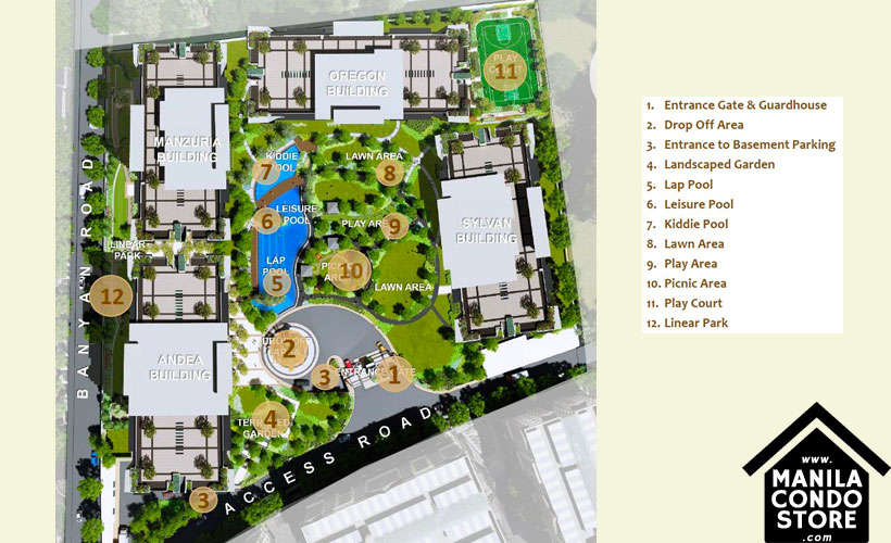 DMCI Homes Alder Residences Acacia Estates Taguig Condo Site Development Plan