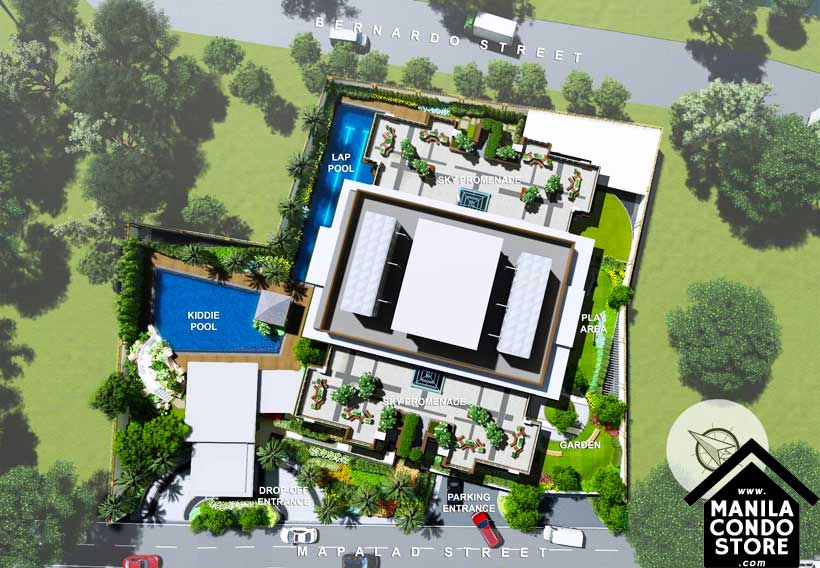 DMCI Homes CAMERON RESIDENCES Roosevelt Avenue Quezon City Condo Site Development Plan