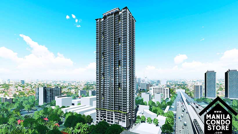 DMCI Homes The Crestmont Panay South Triangle Quezon City Condo Building Facade