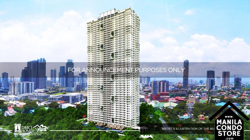 DMCI Homes Fairlane Residences Kapitolyo Pasig Condo Building Facade
