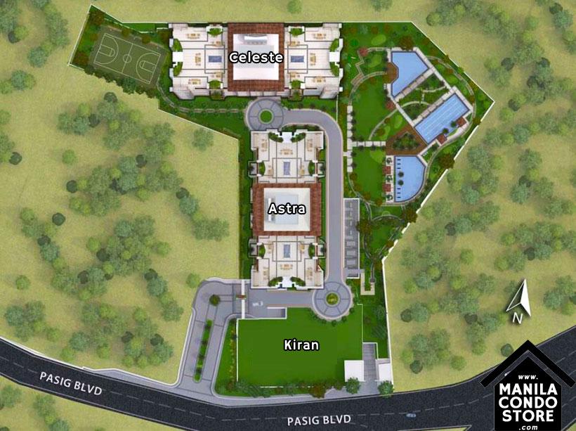 DMCI Homes PRISMA Residences Bagong Ilog Pasig Condo Site Development Plan