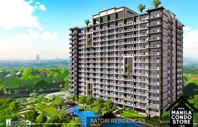 DMCI Homes SATORI Residences Santolan Pasig Condo Building Facade