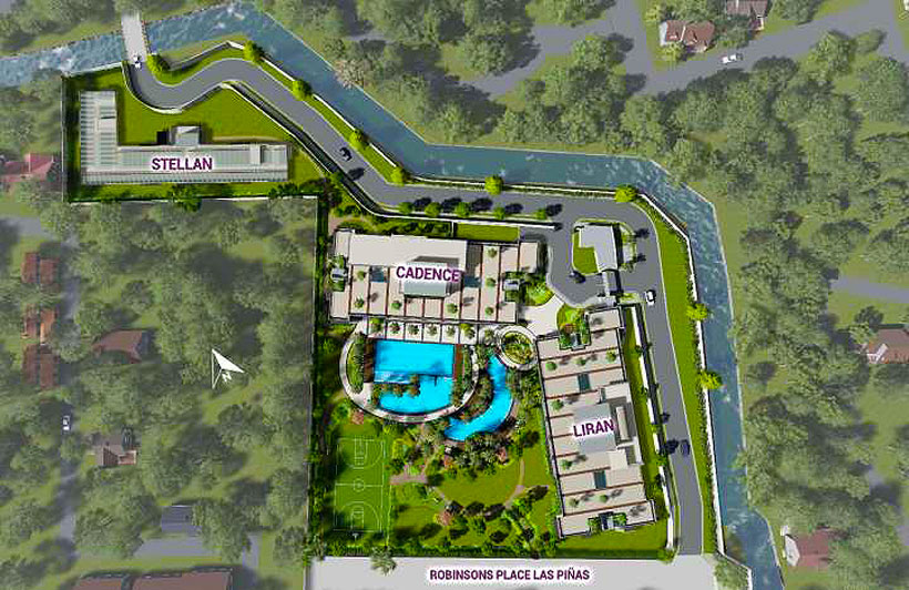 DMCI Homes Sonora Garden Residences Robinsons Las Pinas Condo Site Development Plan