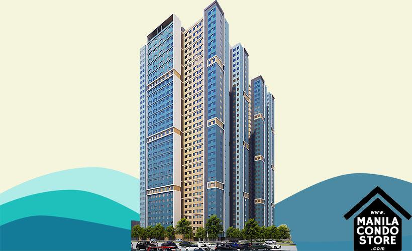 Empire East Highland City Residences Felix Avenue Cainta Rizal Condo Building Facade