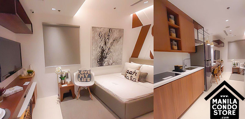 Empire East Highland City Residences Felix Avenue Cainta Rizal Condo Model Unit