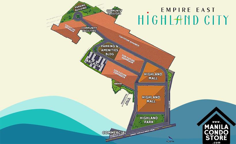 Empire East Highland City Residences Felix Avenue Cainta Rizal Condo Site Development Plan