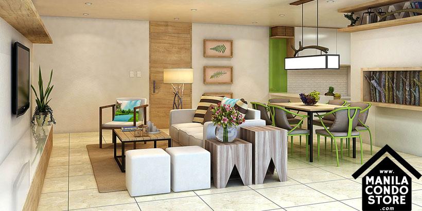 Empire East Mango Tree Residences San Juan City Condo Model Unit