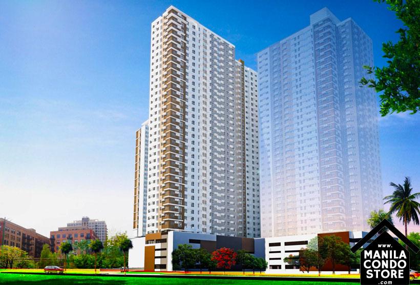 Empire East Pioneer Woodlands Boni MRT Mandaluyong City Condo Building Facade
