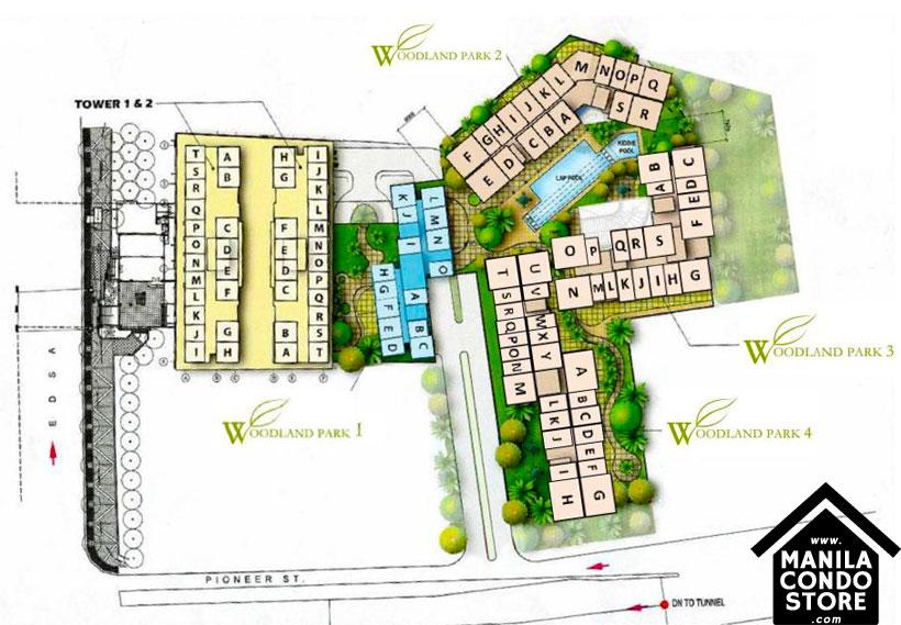 Empire East Pioneer Woodlands Boni MRT Mandaluyong City Condo Site Development Plan