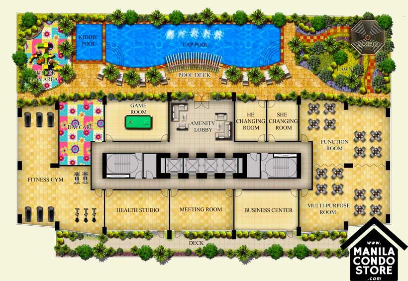 Federal Land One Wilson Square Greenhills San Juan Condo Site Development Plan