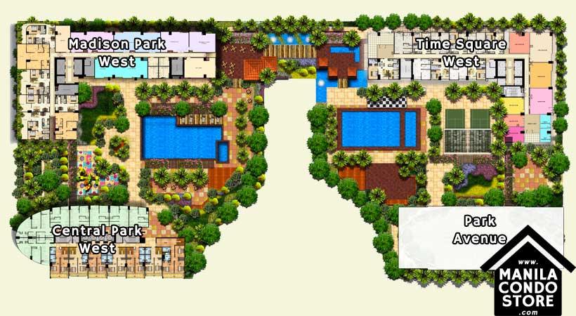 Federal Land Park Avenue BGC Taguig Condo Site Development Plan