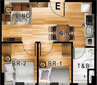 Horizon Land Peninsula Garden Midtown Homes Paco Manila Condo Mimosa 2-bedroom