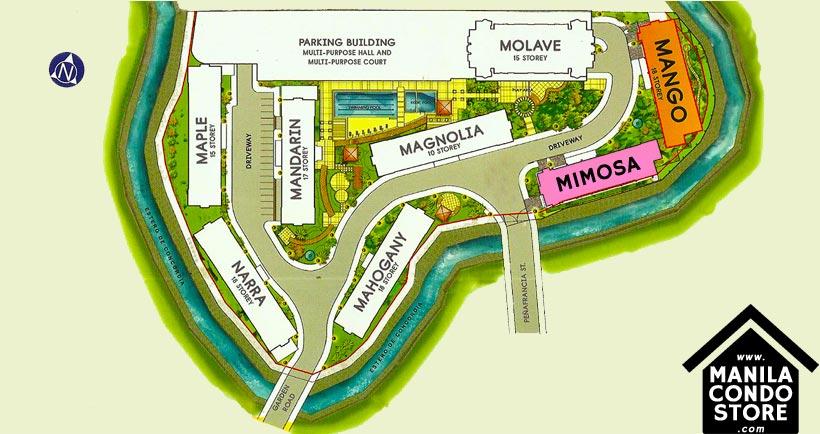 Horizon Land Peninsula Garden Midtown Homes Paco Manila Condo Site Development Plan