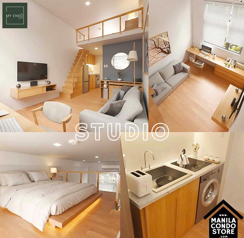 PH1 World Developers My Enso Lofts Timog Avenue Quezon City Condo Model Unit Studio