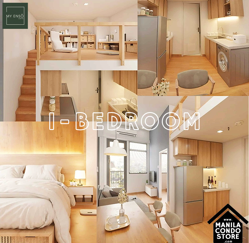 PH1 World Developers My Enso Lofts Timog Avenue Quezon City Condo Model Unit 1-bedroom