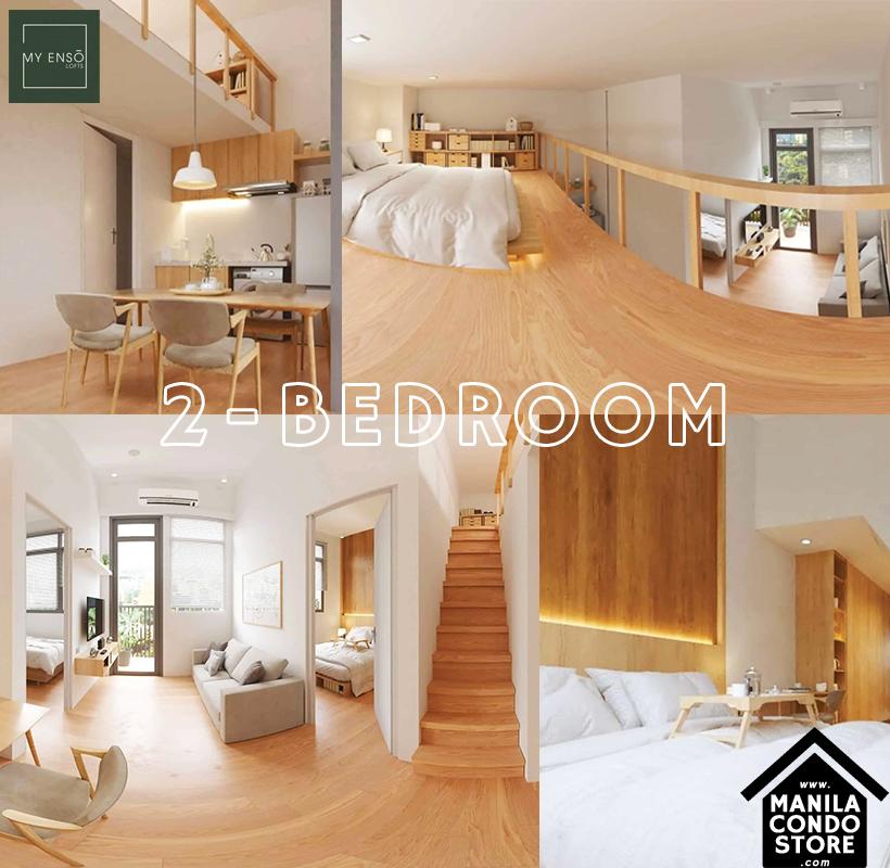 PH1 World Developers My Enso Lofts Timog Avenue Quezon City Condo Model Unit 2-bedroom