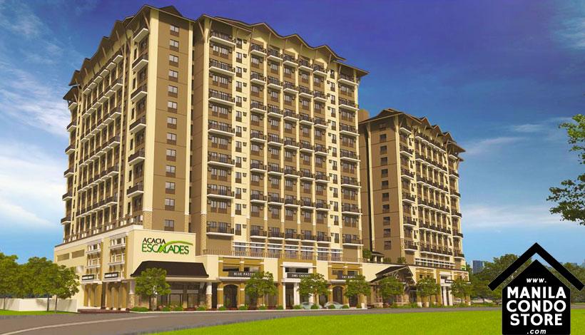 Robinsons Communities Acacia Escalades Manggahan Pasig Condo Building Facade