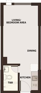 Robinsons Communities Acacia Escalades Manggahan Pasig Condo Tower A Studio unit