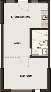Robinsons Communities Acacia Escalades Manggahan Pasig Condo Tower B 1-bedroom unit
