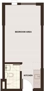 Robinsons Communities Acacia Escalades Manggahan Pasig Condo Tower B Studio unit