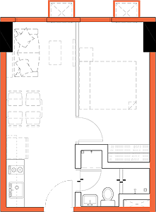 Robinsons Communities SYNC C5 Bagong Ilog Pasig Condo 1-bedroom unit