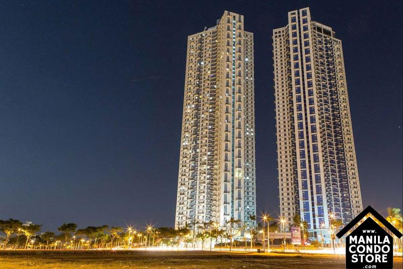 Robinsons Residences Trion Towers BGC Taguig Condo Building Facade