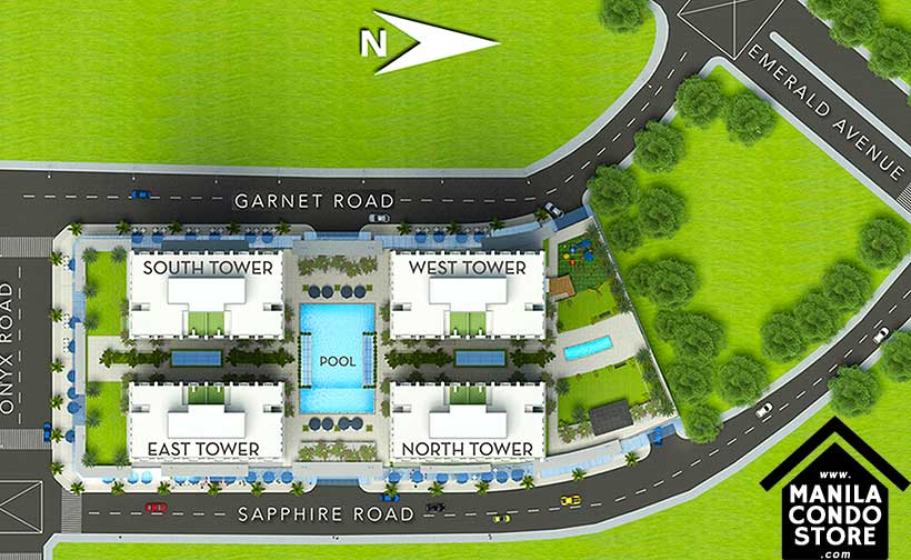 Robinsons Residences The Sapphire Bloc Ortigas Pasig Condo Site Development Plan
