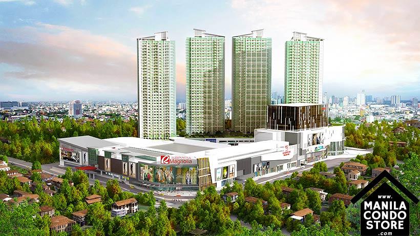 Robinsons Magnolia Residences New Manila Quezon City Condo Building Facade