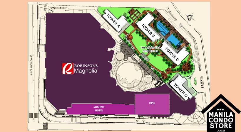 Robinsons Magnolia Residences New Manila Quezon City Condo Site Development Plan