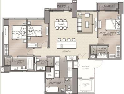 Robinsons The Velaris Residences Bridgetowne Rosario Pasig Condo 3-bedroom suite