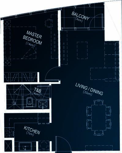 Rockwell PROSCENIUM Residences Makati Condo 1-bedroom unit