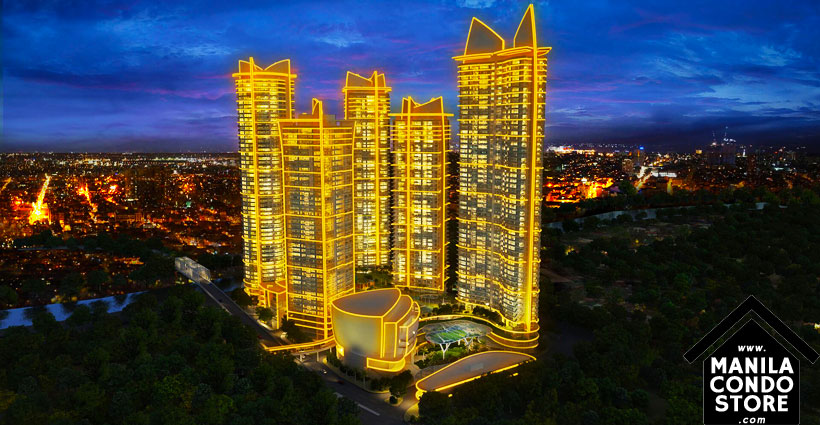 Rockwell PROSCENIUM Residences Makati Condo Building Facade