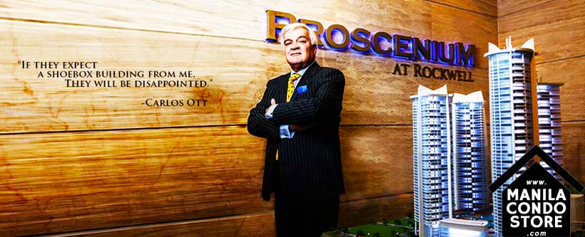Rockwell PROSCENIUM Residences Makati Condo Carlos Ott