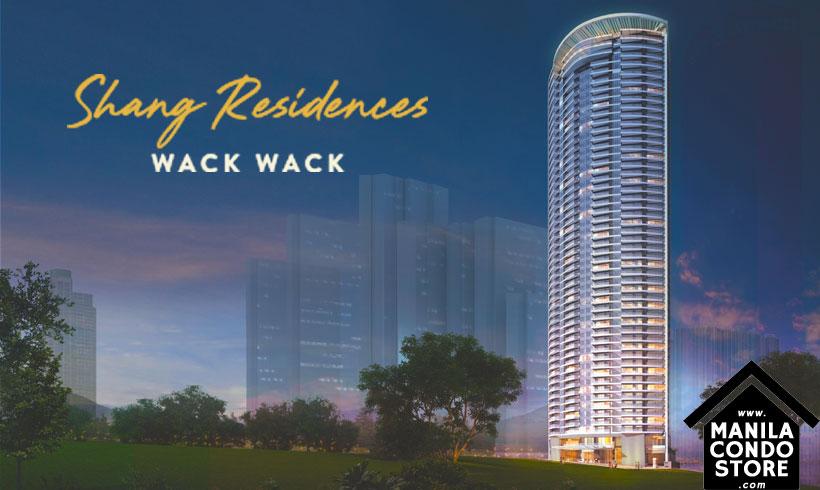 Shang Residences at Wack Wack Mandaluyong Condo Building Facade