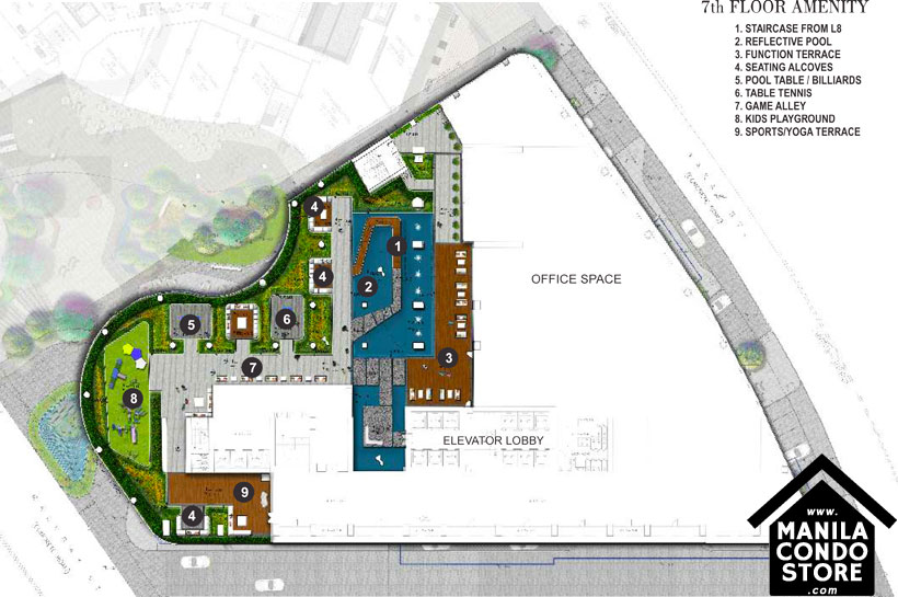 SMDC AIR Residences Ayala Extension Makati Condo Site Development Plan