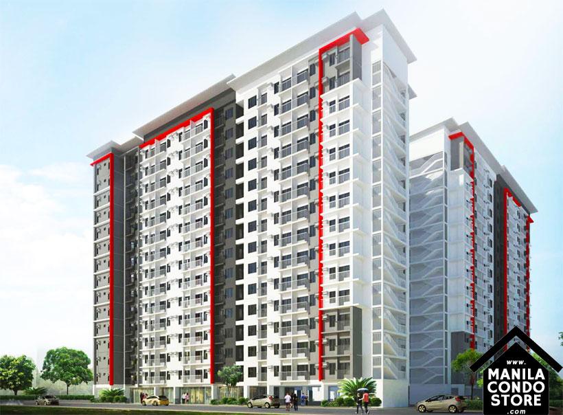 SMDC Bloom Residences Sucat Paranaque Condo Building Facade