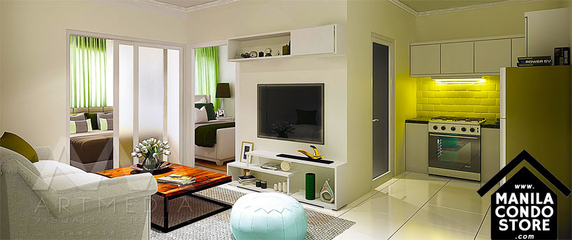 SMDC Bloom Residences Sucat Paranaque Condo Model Unit