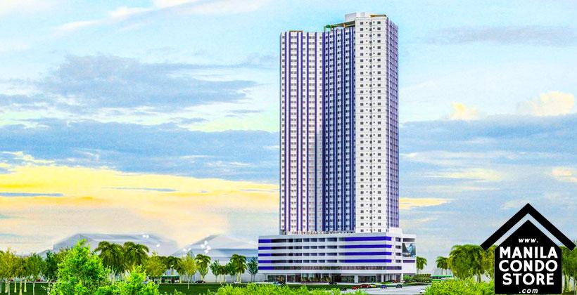 SMDC BLUE Residences Ateneo Katipunan Quezon City Condo Building Facade
